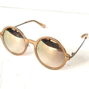 DVF round sunglasses